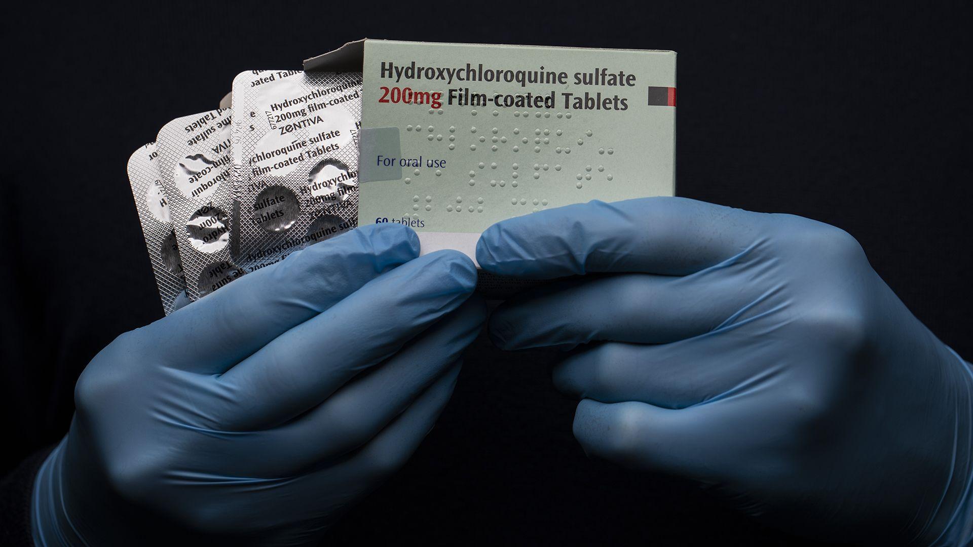 Hidroxi-klorokin tabletták