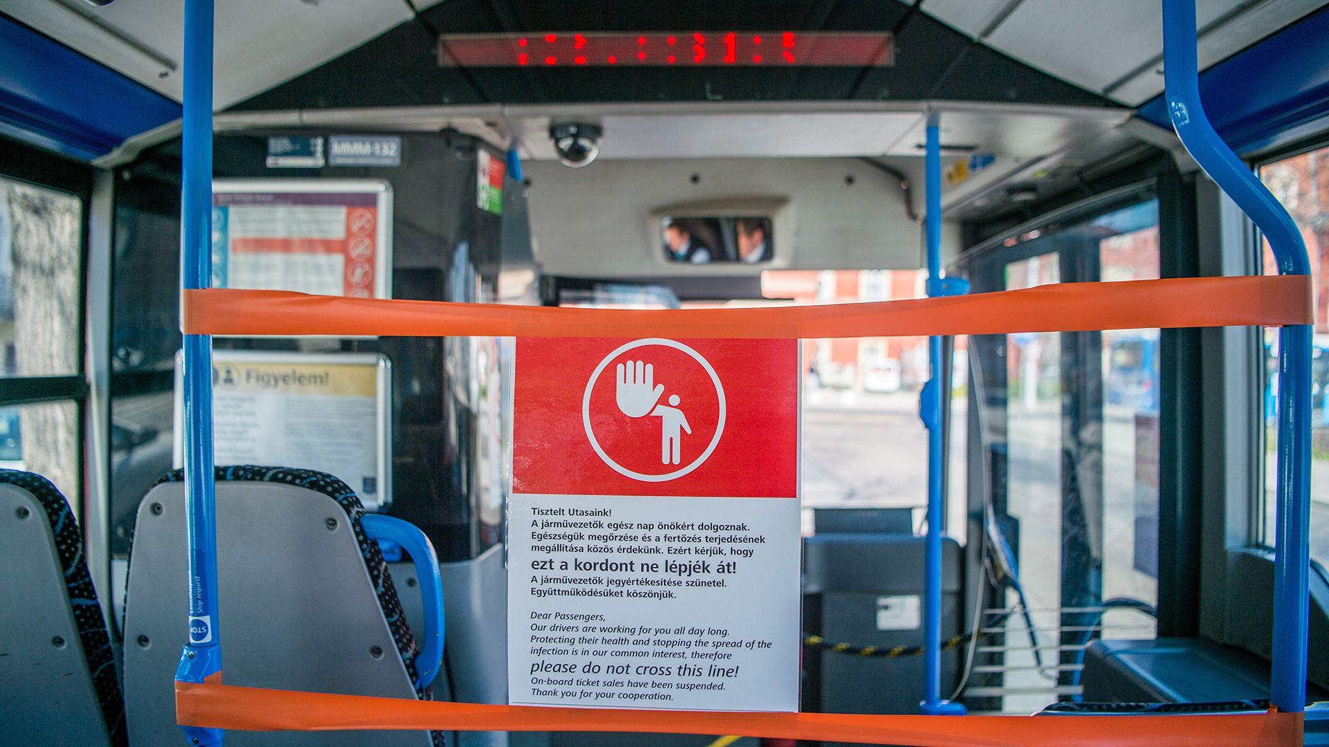 buszvezetőre támadt egy férfi csepelen