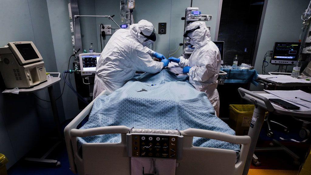 koronavírus beteg kórház