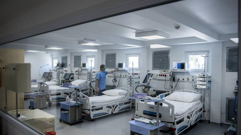 koronavirusos beteg kórház