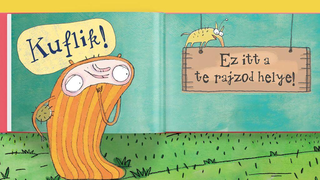 A kufli-rajzokat április 12-ig várja a kiadó (Forrás: Pagony.hu)