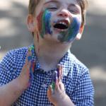 Lajos herceg a második születésnapján