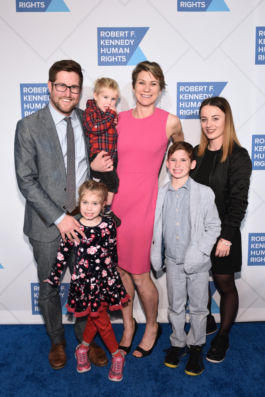 Maeve Kennedy Townsend McKean és családja pár hónappal ezelőtt (Fotó: Gettyimages)
