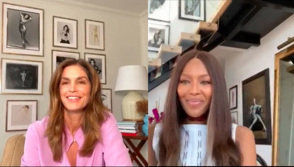Cindy Crawford és Naomi Campbell 34 éve barátok, most erről is beszélgettek