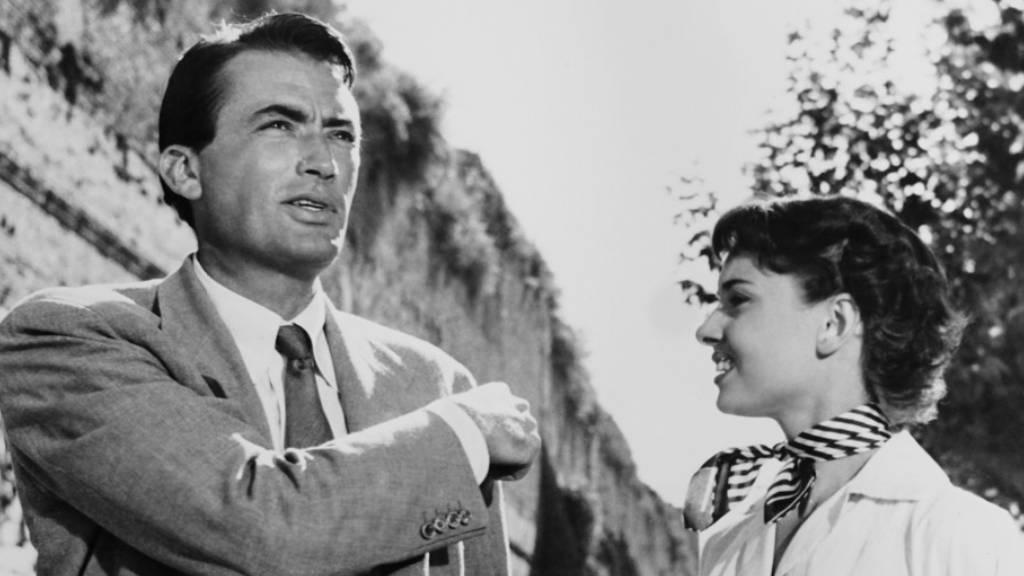Gregory Peck a Római Vakációban