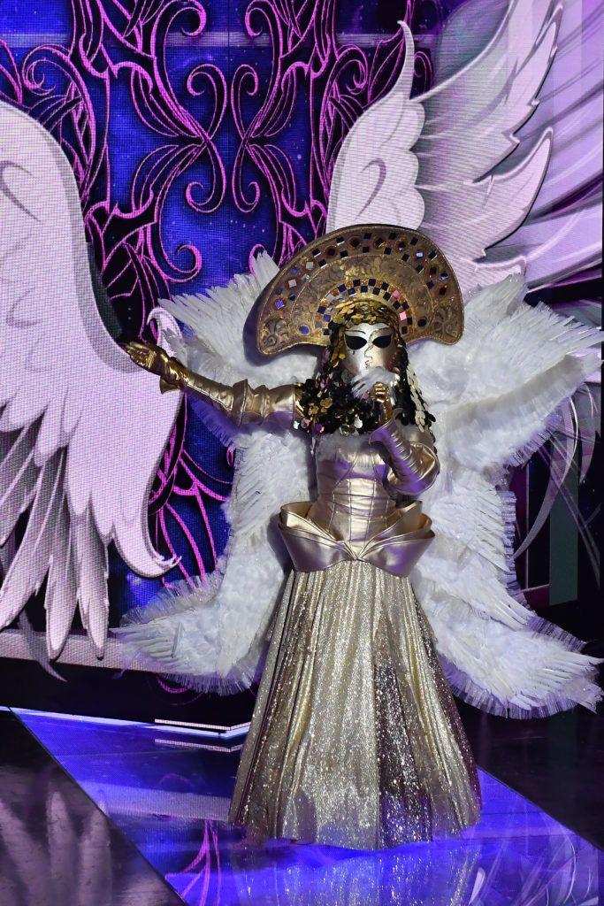 Nicsak, ki vagyok? műsor egyik szuperdöntőse az Angyal (Fotó: Sajtószoba)