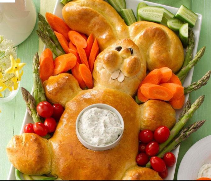 Nyuszis húsvéti kenyér - recept