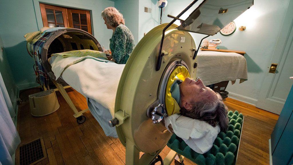 Mona az egyik utolsó vastüdővel élő ember az Egyesült Államokban
