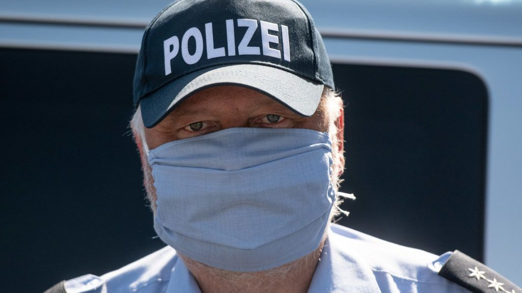 bajorországban 5000 euró is lehet a bírság, ha nincs maszk