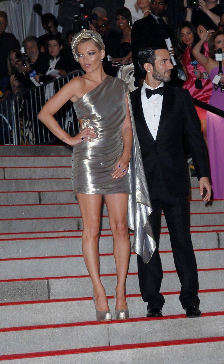Kate Moss és Marc Jacobs a 2009-es MET-gálán