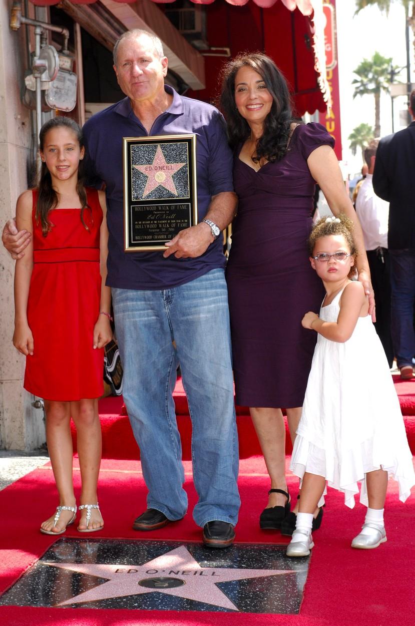 Ed O'Neill és családja 2011-ben
