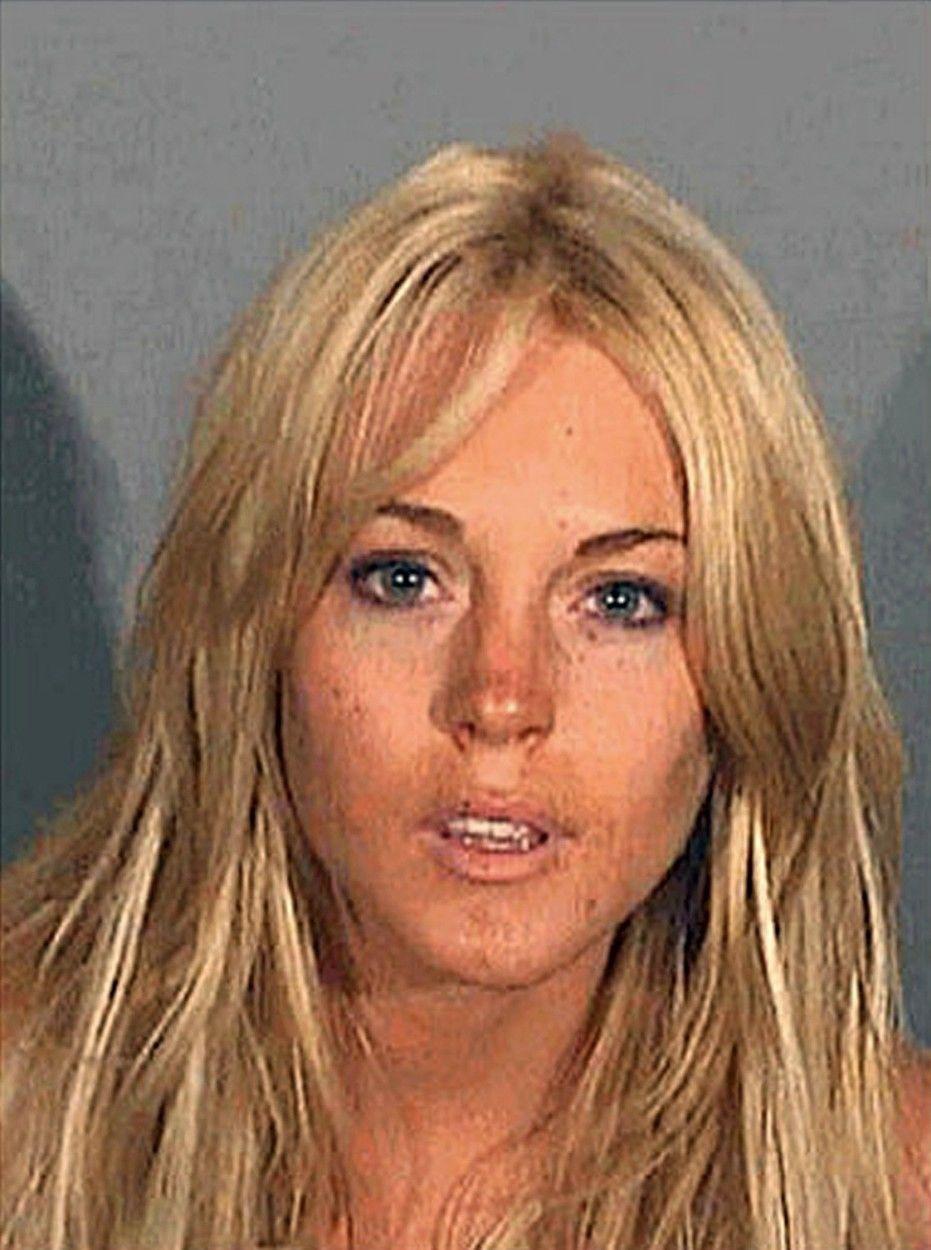 Lindsay Lohan börtönben