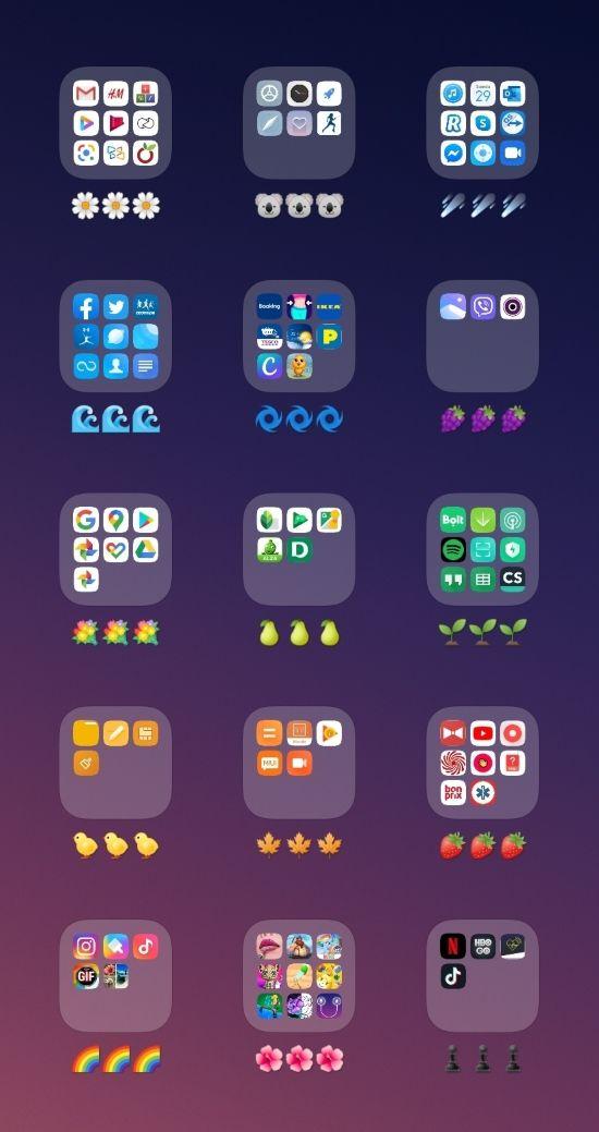 Egy trükk, amivel rendszerezheted a telefonodon az appokat