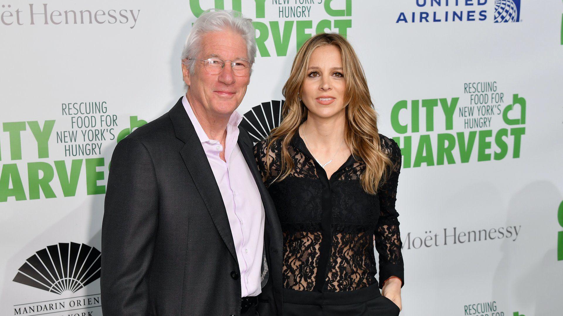 Richard Gere és felesége
