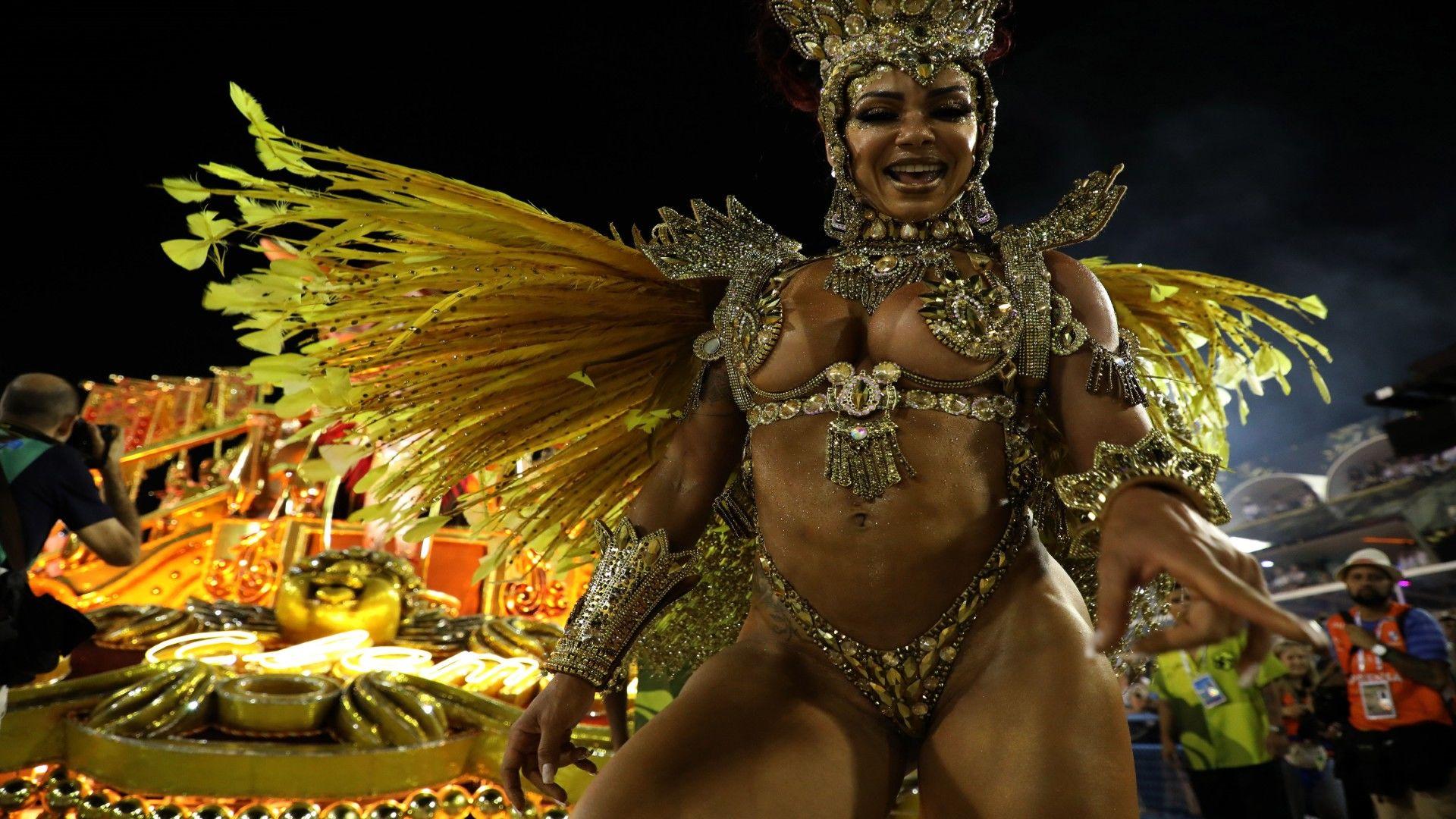A 2020-as riói karnevál (MTI/EPA-EFE/Fabio Motta)