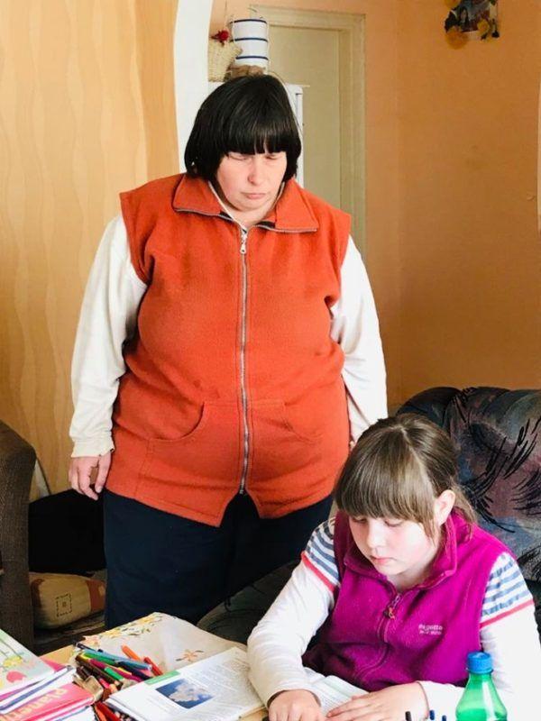 Andrea és lánya Zsófi (Fotó: magánarchívum)