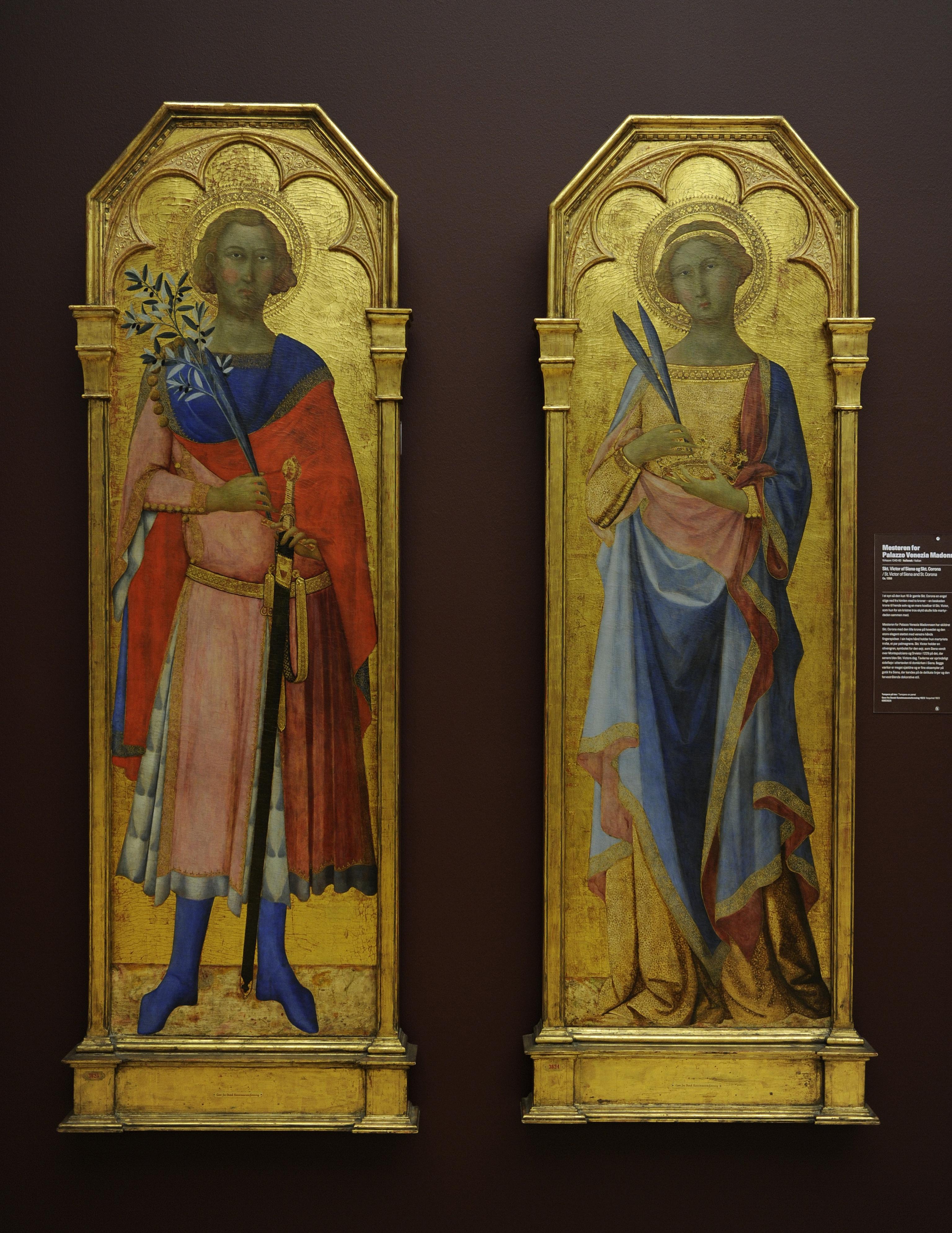Szent Viktor és Szent Corona asienai katedrális oltárképén (fotó: Prisma/Universal Images Group via Getty Images)