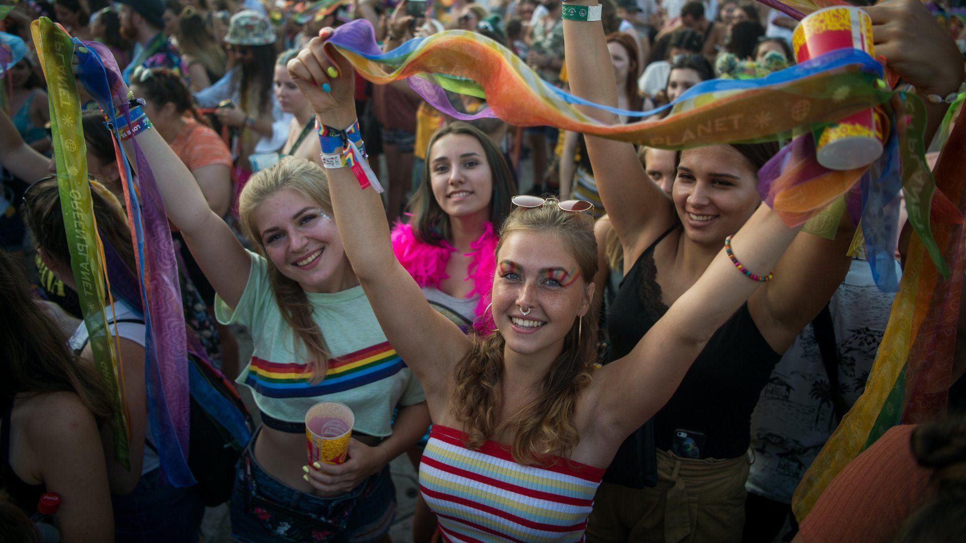 Bulizók a 2019-es Sziget Fesztiválon
