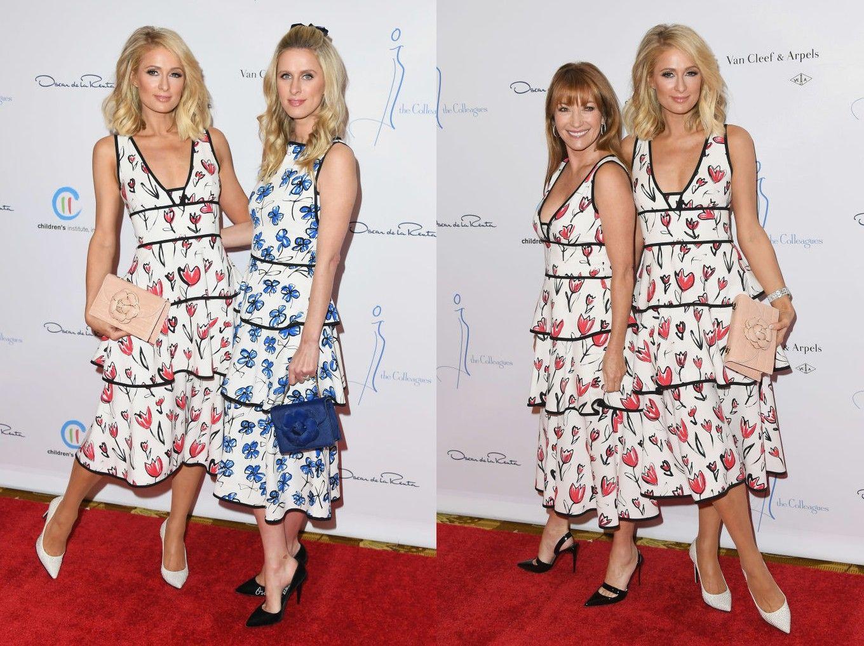 Nicky Hilton Paris Hilton Jane Seymour