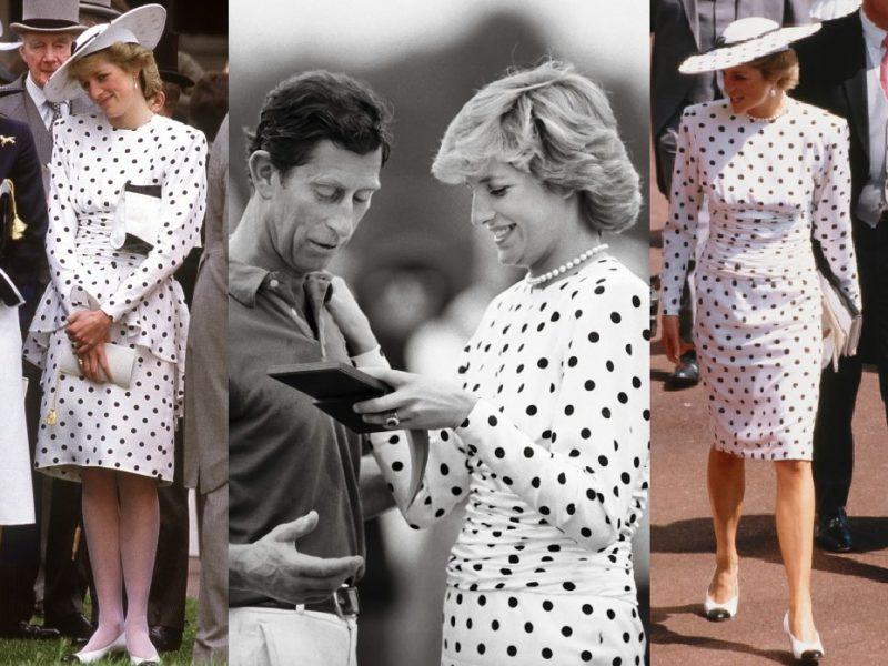 Diana hercegnő ruhaismétlései
