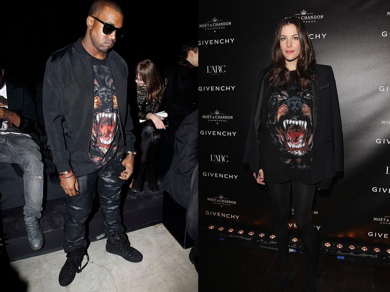 Liv Tyler Kanye West