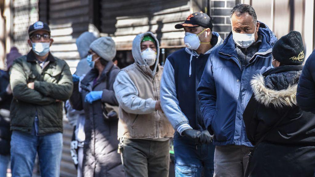 koronavírus, vásárlás, maszk