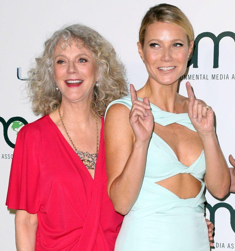 Gwyneth Paltrow és édesanyja