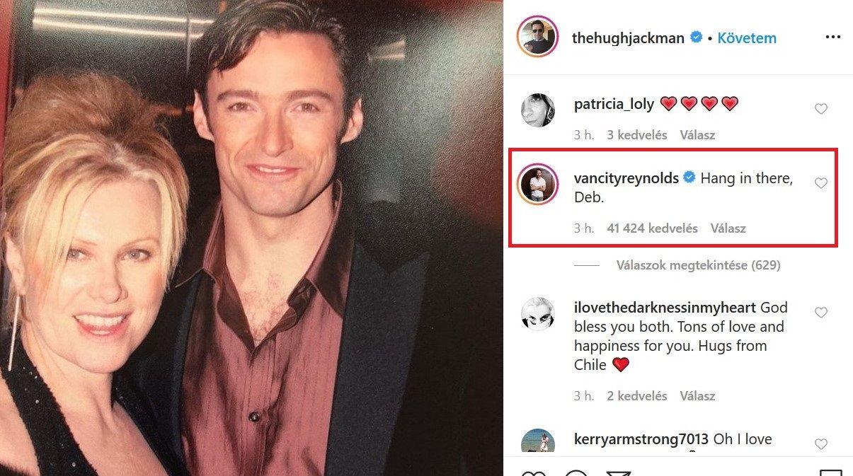 Hugh Jackman és Ryan barátsága