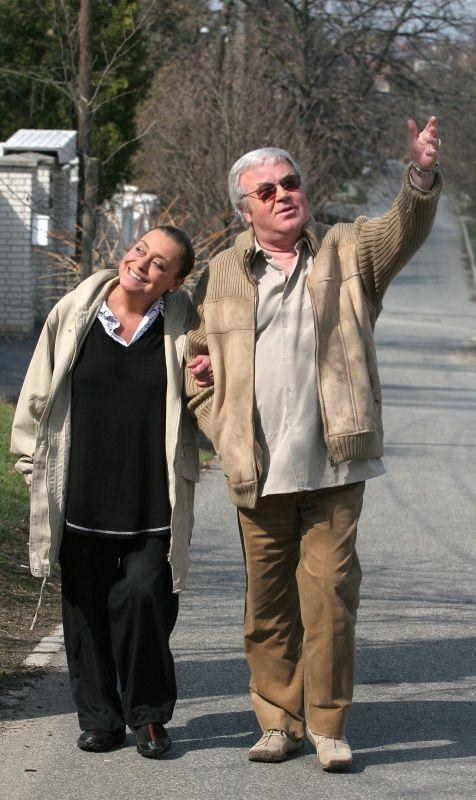 2005 Gálvölgyi János és felesége: Jutka