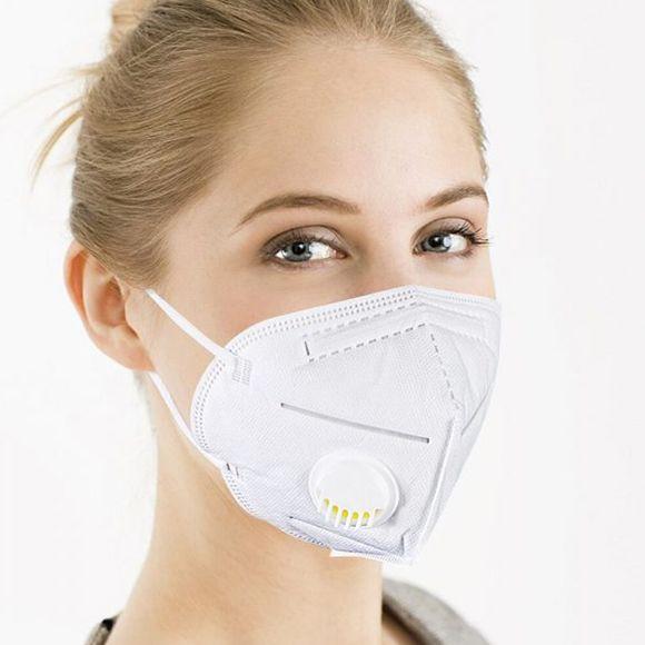 Melege van a maszk alatt? A megoldás: a szelepes védőmaszk (x)