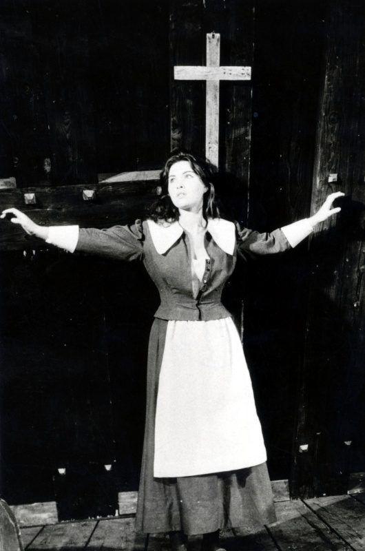 Pécsi Ildikó a Nemzeti Színházban