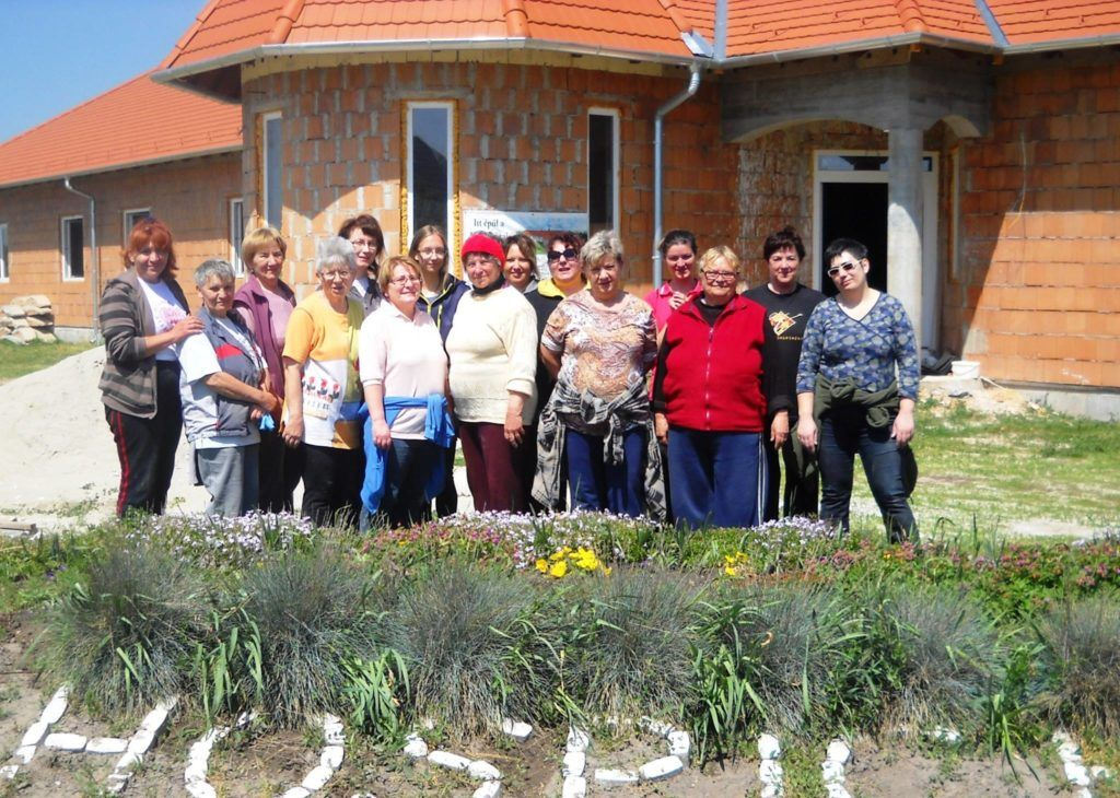 A Majosházai Hospice Ház több mint 12 ezer óra alatt és több száz önkéntes segítségével épült fel (Fotó: magánarchívum)