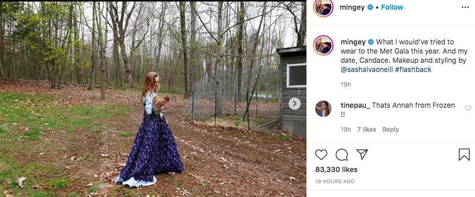 Amanda Seyfried a 2020-as MET-gálára ebben a ruhában ment volna
