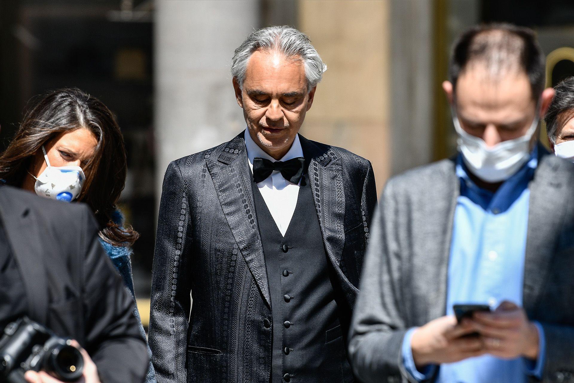 Andrea Bocelli Milánóban