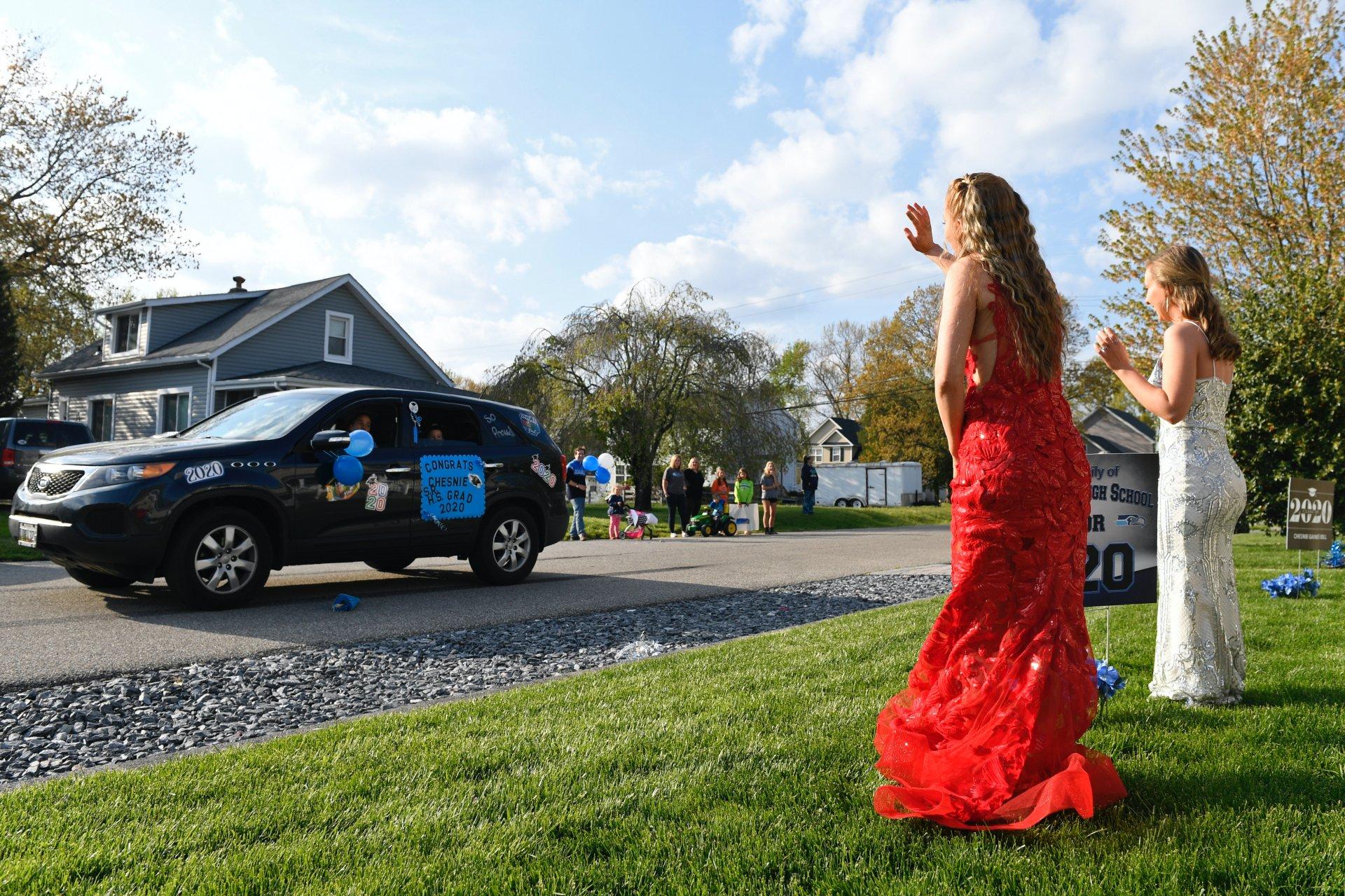 autós ballagas végzősok amerika