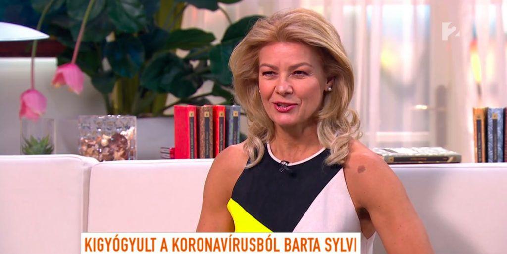 Barta Sylvia visszatér dolgozni, kigyógyult a koronavírusból