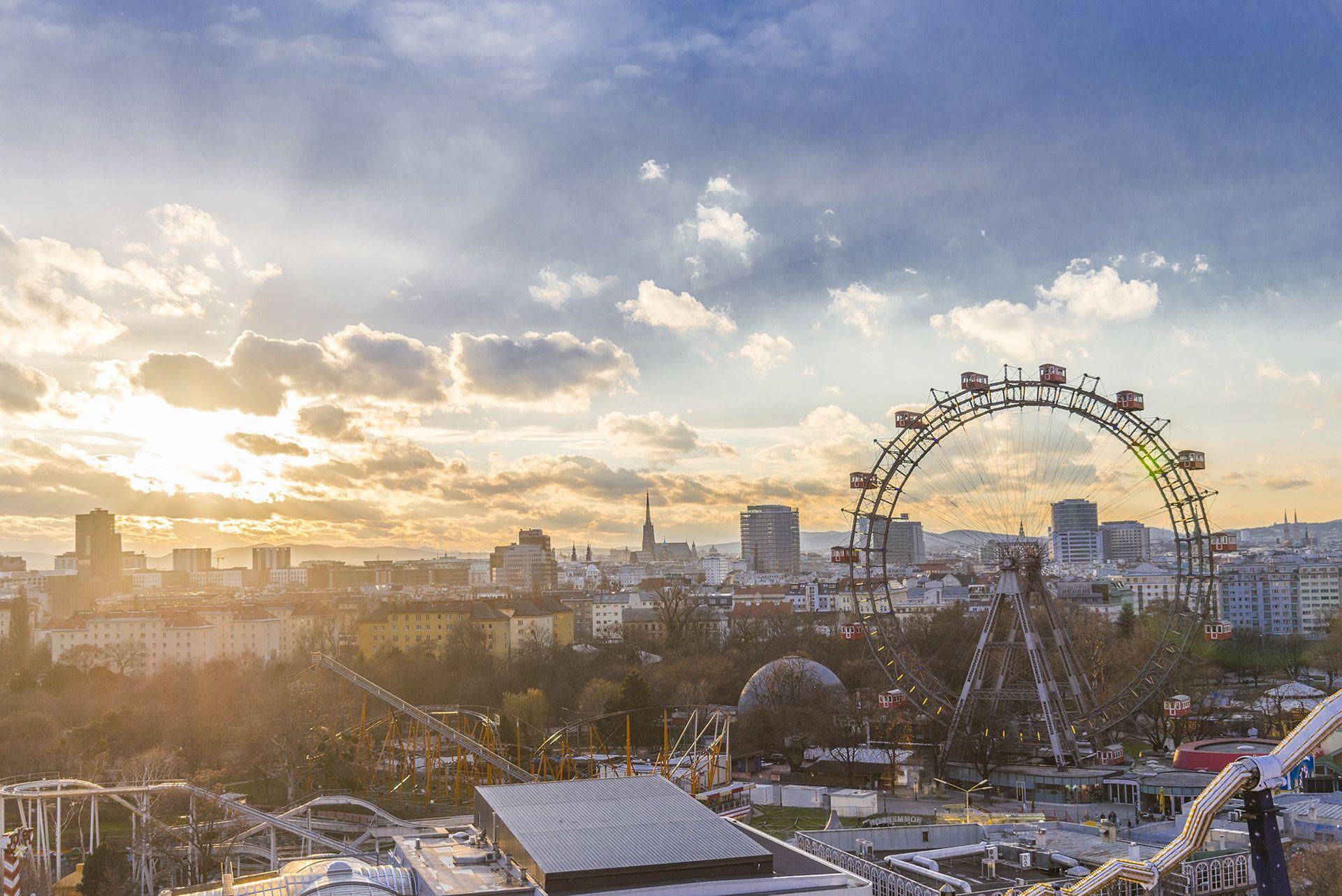 Bécs látképe
