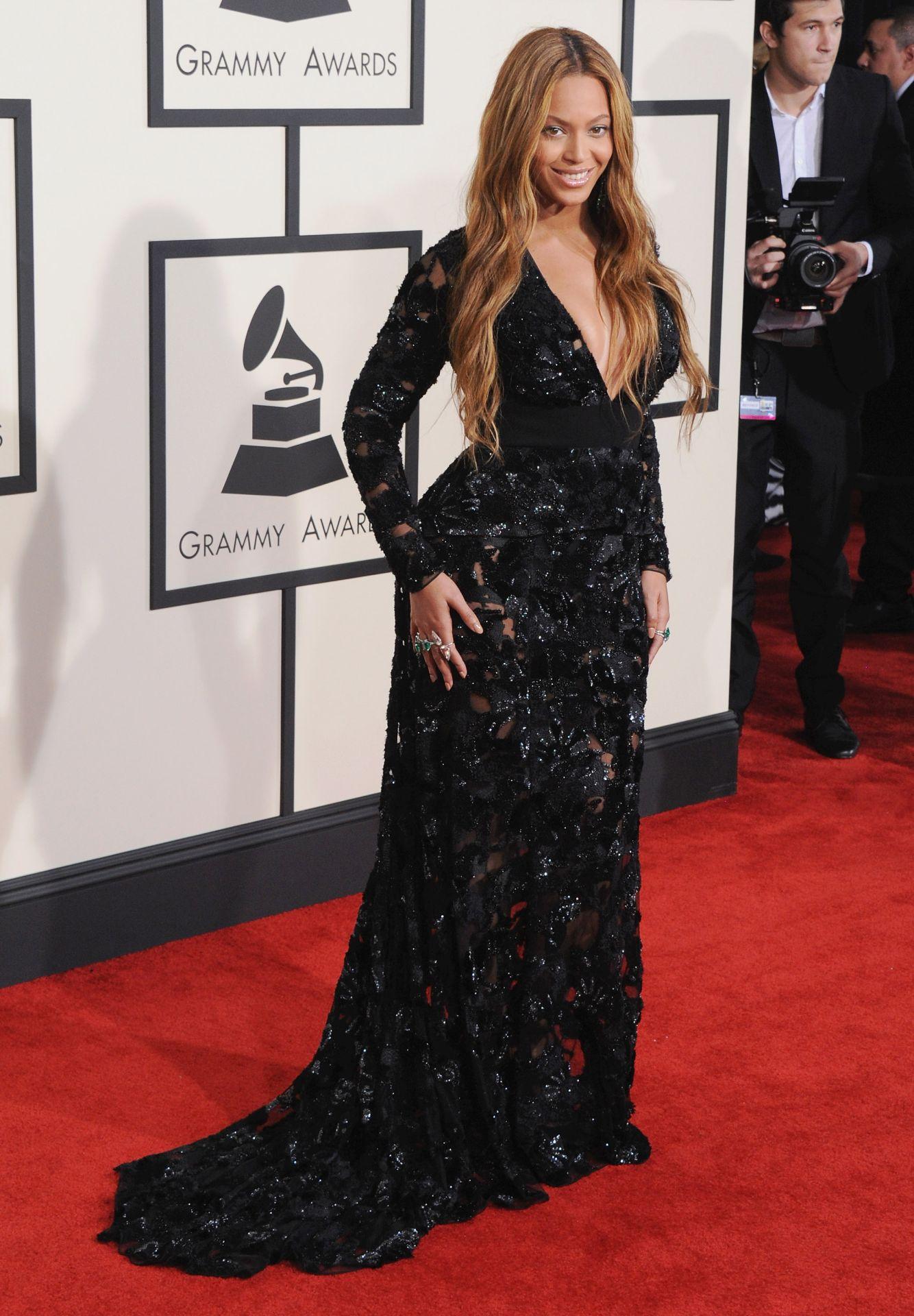Beyonce a 2015-ös Grammy-gálán.