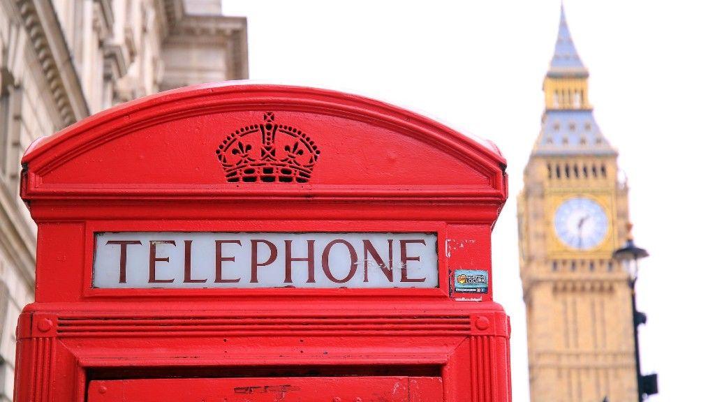 Big Ben telefonfülkével
