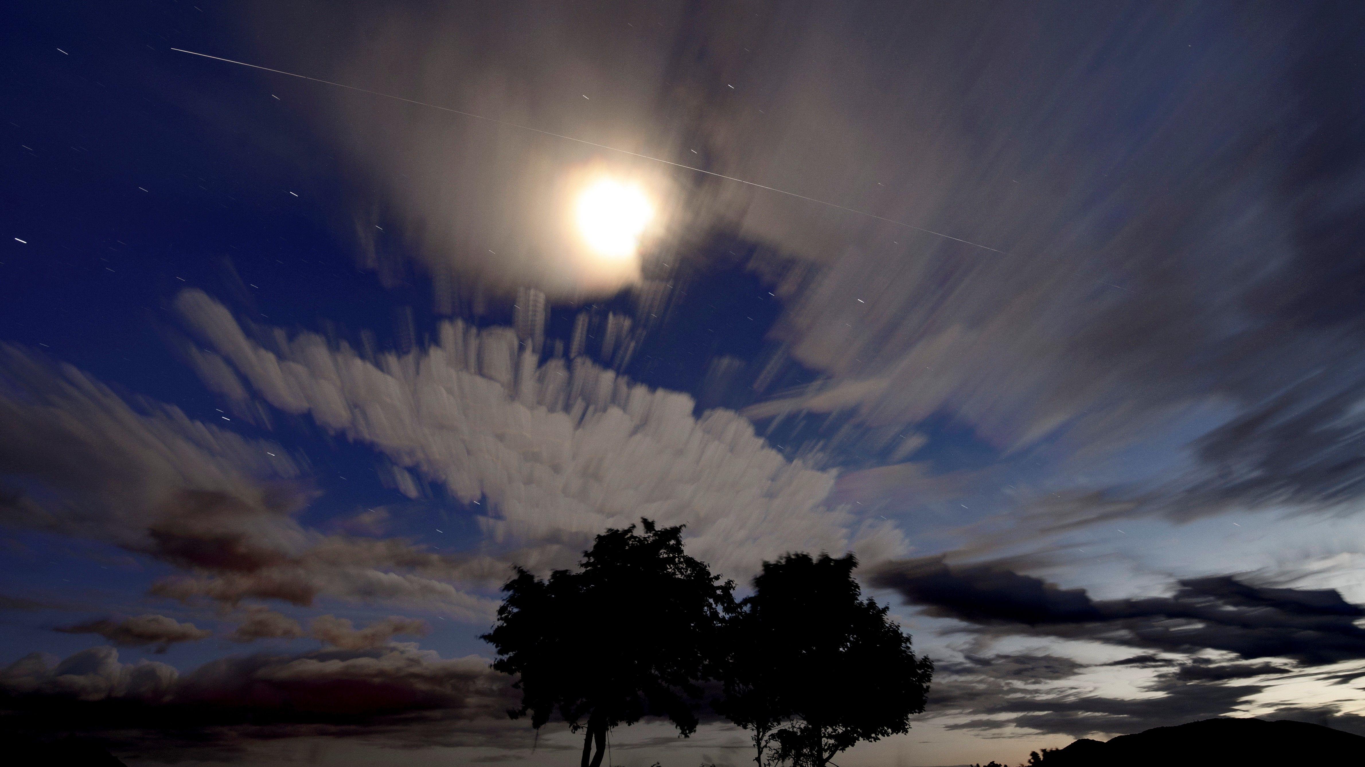 Így néz ki Salgótarján felől a Nemzetközi Űrállomás