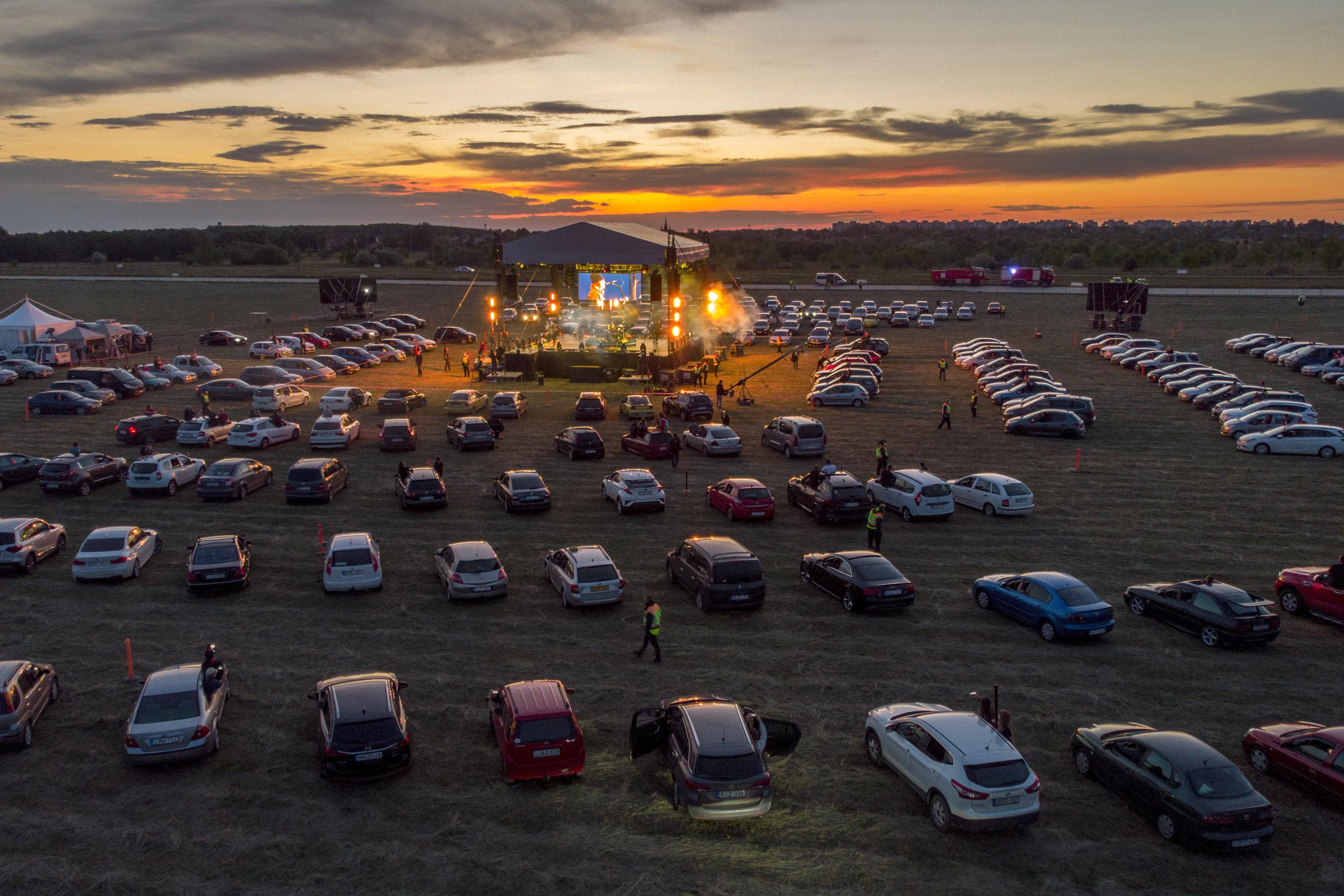 tankcsapda autós koncert
