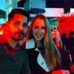 Demcsák Zsuzsa férje, Krishan Dangwal a Marie Claire gáláján