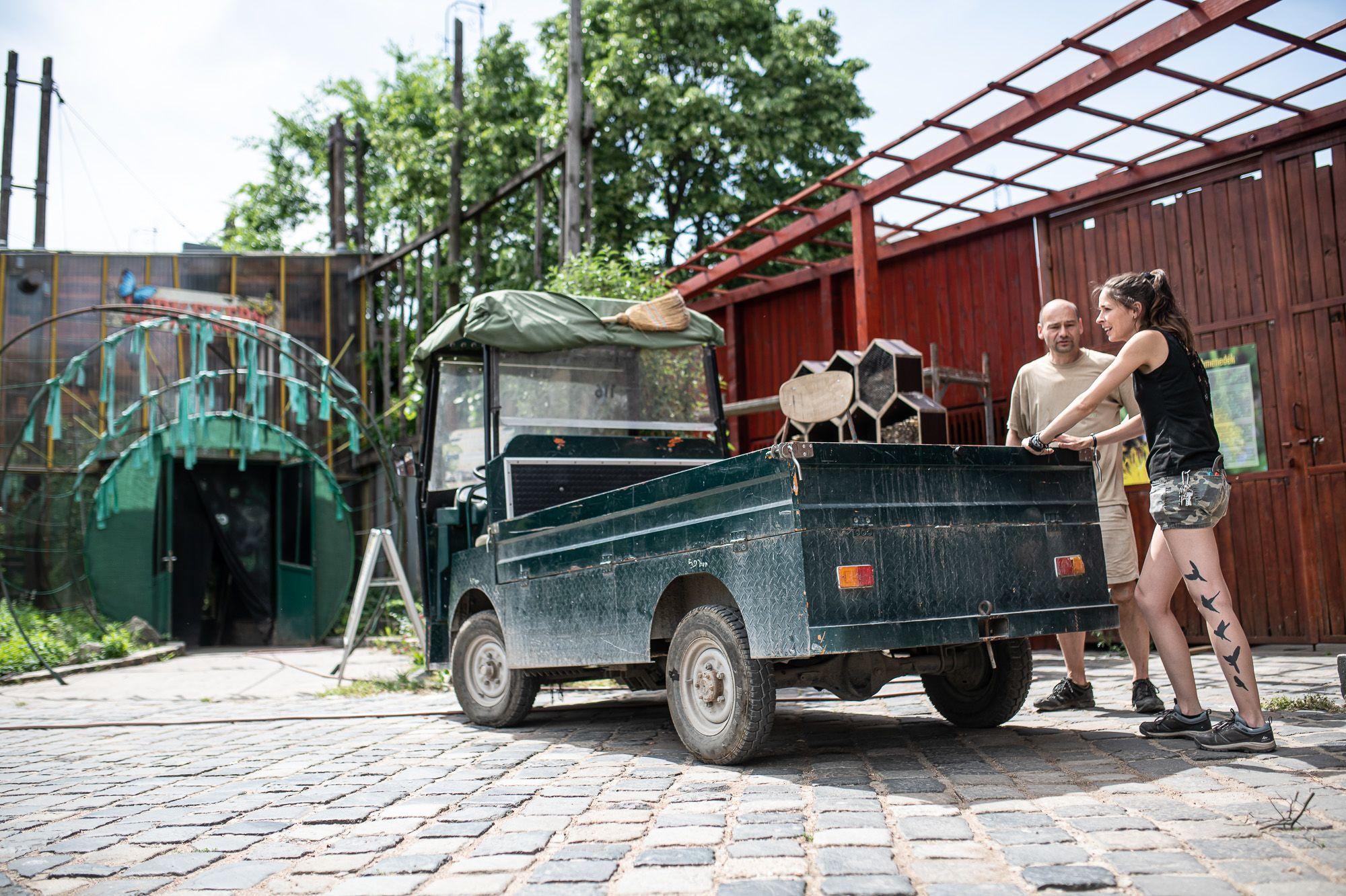 A Budapesti Állat- és Növénykert dolgozói
