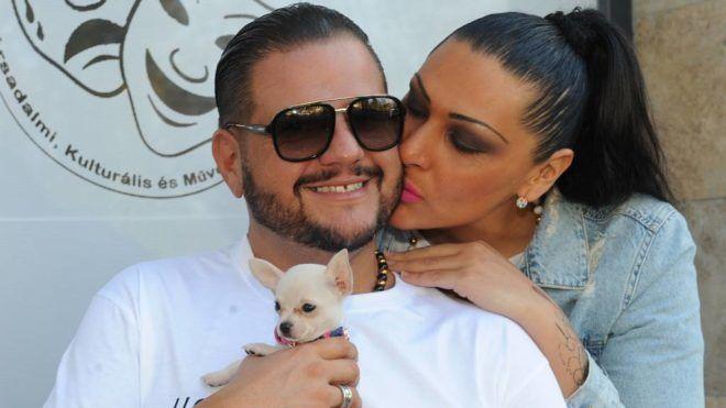 Emilio és felesége, Tina