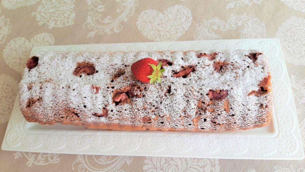 Gyors sütemény: epres joghurtos