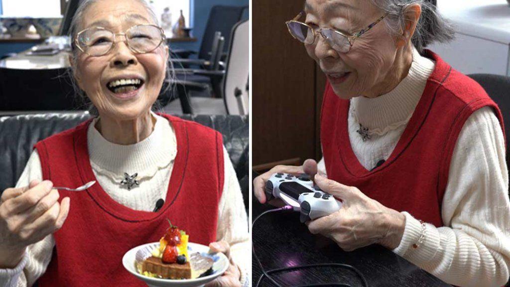 videójátékos nagymama