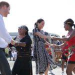 Harry herceg és Meghan Markle Afrikában
