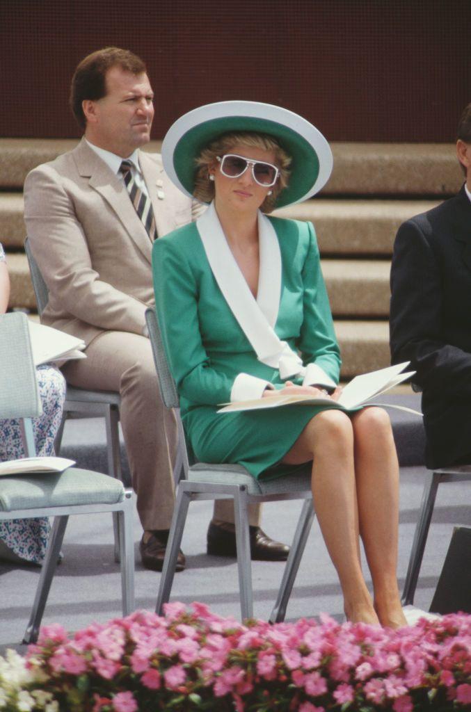 Diana hercegnő 1988-ban Ausztráliában
