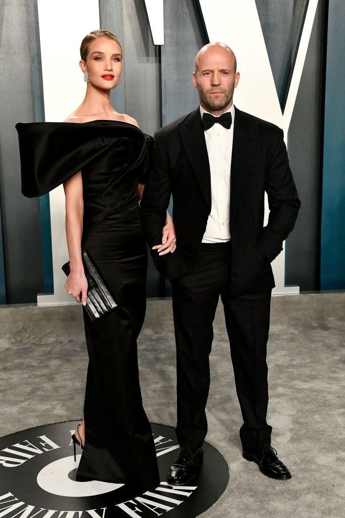 Rosie Huntington-Whiteley és Jason Statham