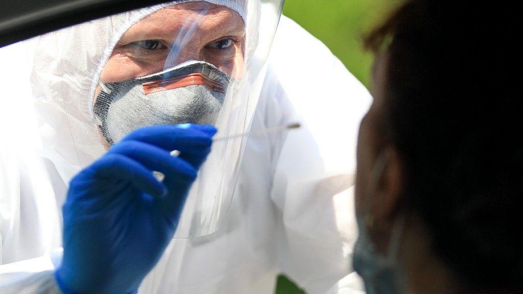 Koronavírus-tesztelés Olaszországban